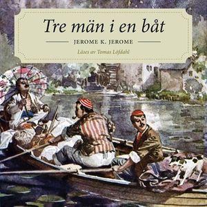 Tre män i en båt